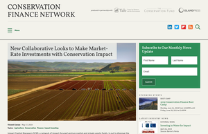 Conservation Finance Network Screenshot