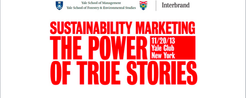 Sustainability Marketing: The Power of True Stories