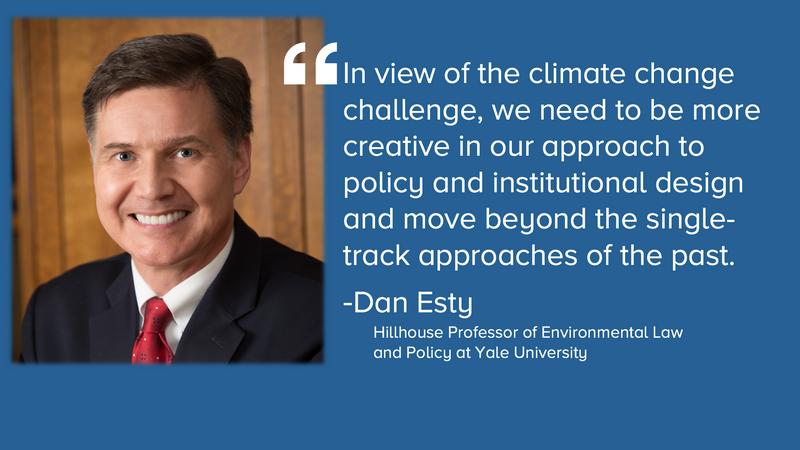 Dan Esty on energy policy