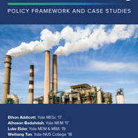 Internal Carbon Pricing: Policy Framework and Case Studies