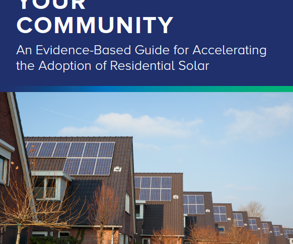 National guidebook maps the way toward 'tipping points' in solar adoption